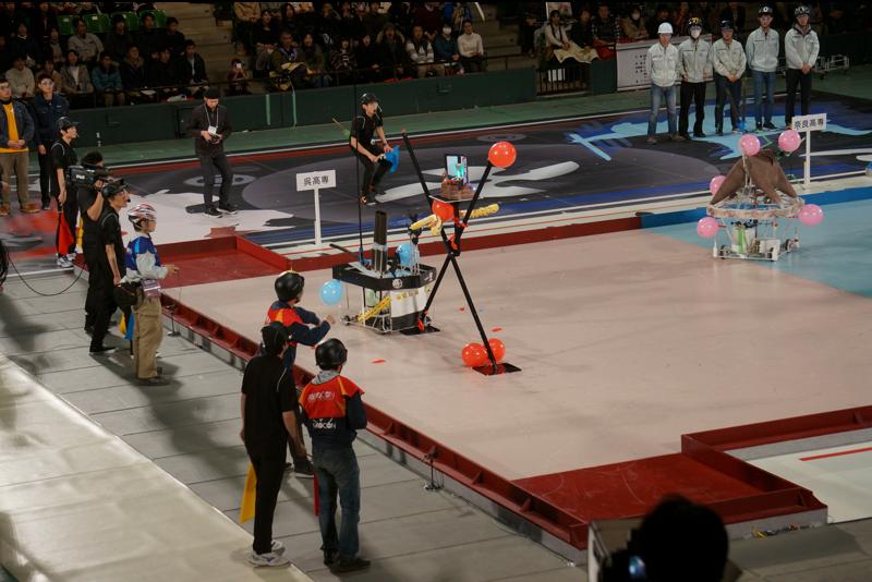 15:10。第4試合、呉高専vs奈良高専