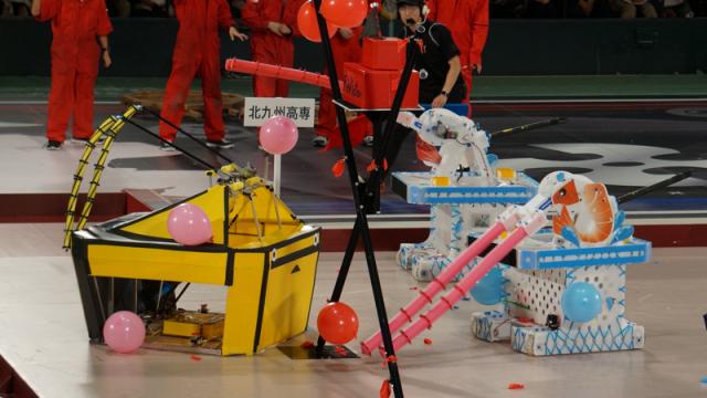 第7試合、北九州高専vs大分高専