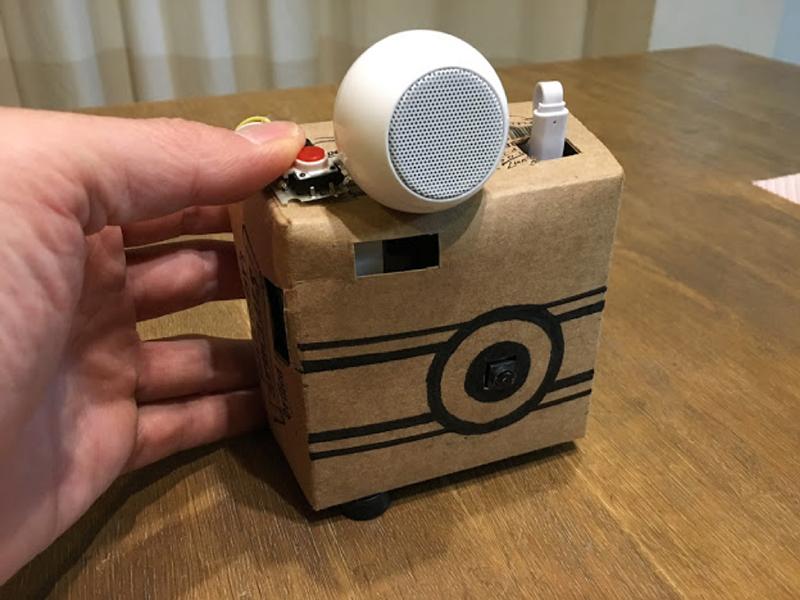 ボタンを押して写真を撮ってみましょう
