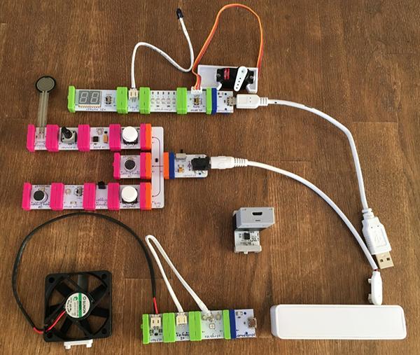 littleBitsビットモジュール