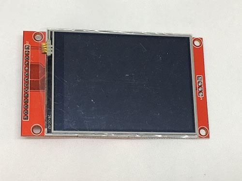 写真2 ILI9341コントローラの2.8インチ液晶ディスプレイ