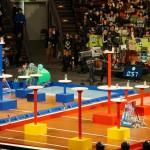 準決勝速報:Vゴール制開始! 高専ロボコン2018全国大会