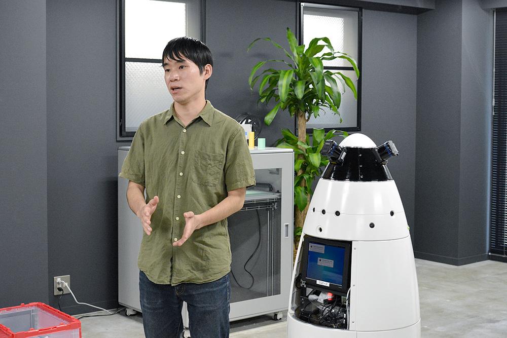 前川さんとロボット