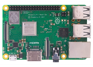 - Raspberry Pi 3B+