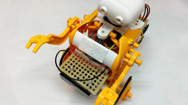 チェーンプログラムロボット・完成図