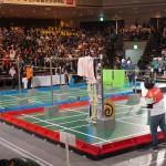 第1回戦速報:高専ロボコン2019全国大会 満点続出!