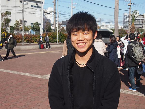 一大イベントを成功に導き、ホッとひと息の久保田代表。お疲れ様でした!