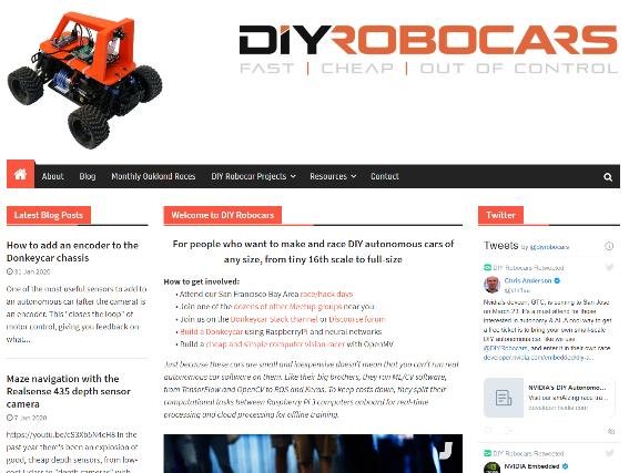 ROBOCARSのサイト